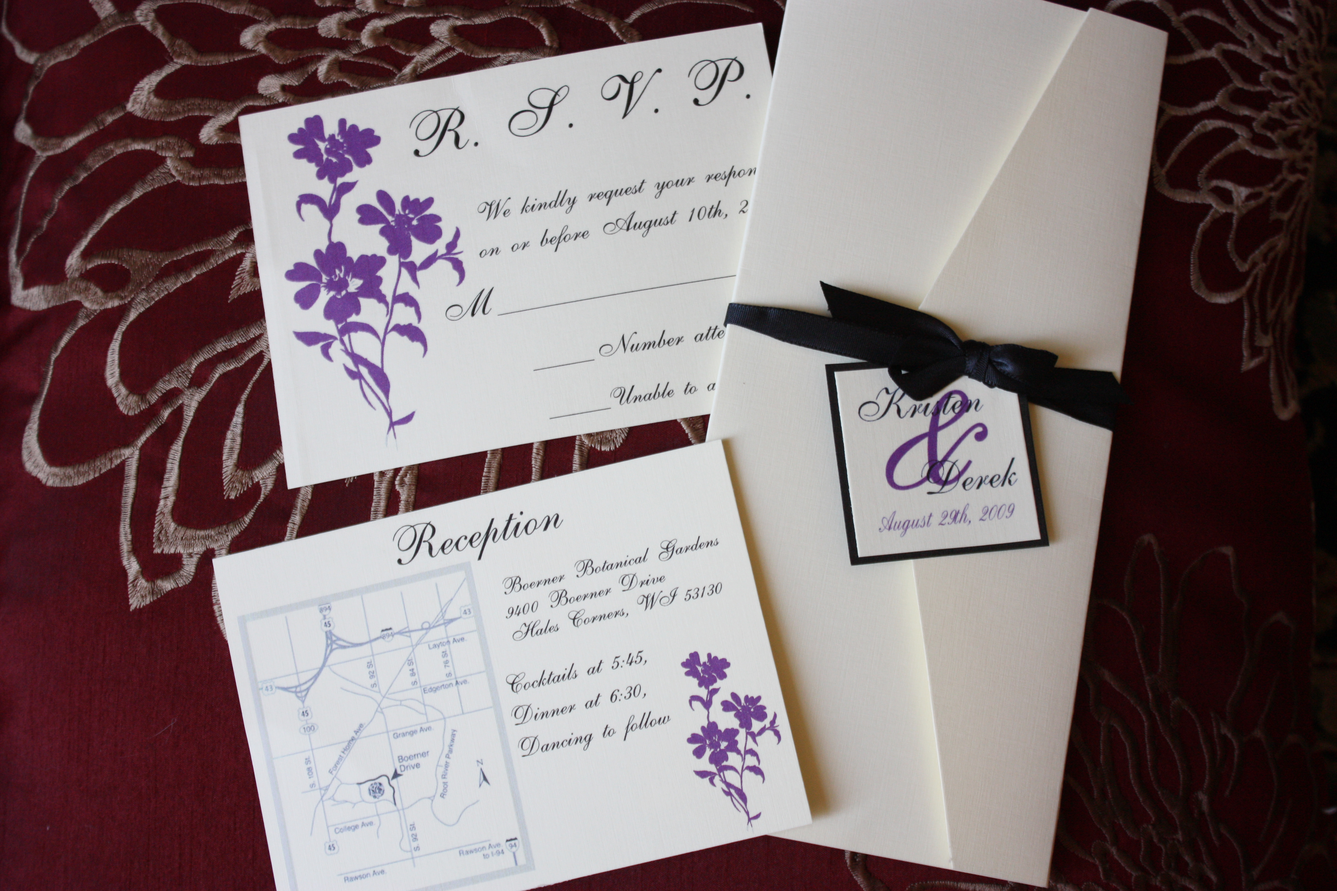 your life long memories invitation layout